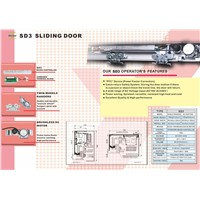 SD3 Series- Automatic Sliding Door (150KG*1, 130KG*2)