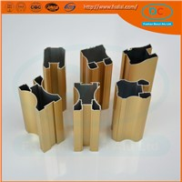 Aluminum extrusion for door and window