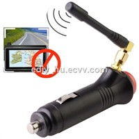 Anti GPS Tracker Mini GPS Jammer GPS signal jammer blocker cigarette lighter WITH ON OFF SWITCH