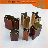 Rolling Shutter anodized extrusion aluminum profile for kitchen cabinet