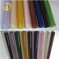 Colord borosilicate 3.3 glass tube