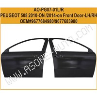 Front Door For Peugeot 508 Auto Kit OEM=9677683980
