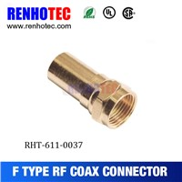 2016 hot Dosin Gold plating Male F connector from Dosin high quality