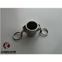 Aluminum Camlock Coupling TypeB camlock Coupling and industrial water pipe fittings