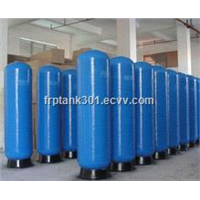 Vertical Active Carbon Filter for FRP Pressure Vessels with Natural Color