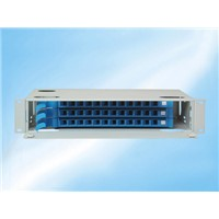 36 core fiber optic patch panel ODF
