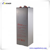 OPzV Tubular GEL Battery 2V3000Ah
