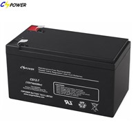Rechargeable SLA Battery 12V7ah for UPS, Alarm System Emergency