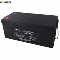 SLA Battery Deep Cycle Battery 12V200ah 3years Warranty