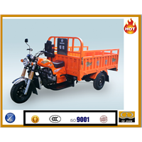 HS-250cc gasoline&diessel motorized flat cargo three wheelers
