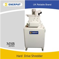 Mobile hard drive shredder with CE approved