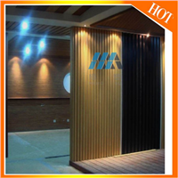 China Factory Supplier for Prefabricated House Used WaterproofWPC plastic wall panel