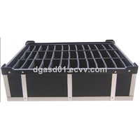 Electrostatic Discharge PP Hollow Sheet box Polypropylene Corrugated Twin wall Hollow Sheet Boxes