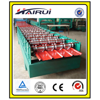 840 colored steel roll forming machine