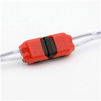 No peeled fast LED connector for 4wires