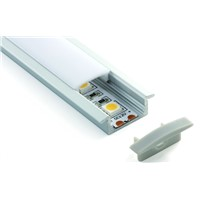 Recessed  LED aluminium profile