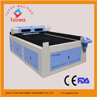 Metal & Non-metal Laser Cutting machine with Japan Servo motor,high precision Ball screw TYE-1325