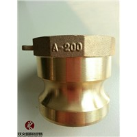 High Quality Brass Adapter Cam and Groove Hose FittingType A