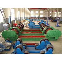 200T Capacity Tank Turning Rolls with 2*4 KW Double Motor Synchronous Drive