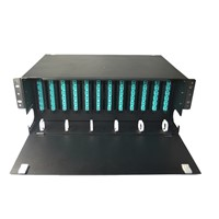 4U fiber optic ODF fiber patch panel