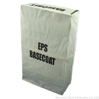 25kg packaing multiwall kraft paper bag for chemical with valve port