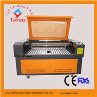China CO2 Laser Cutting machine for Paper-Cutting with high precison square rail,DSP system TYE-1290