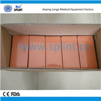 Wholesale comfortable and rigid foam splint
