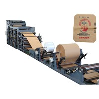 Valve sack Cement paper bag making machine