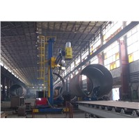 Huge Welding Manipulator Have Flux Transport and Recovery System With Car Moving