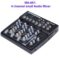 4 Channel Small Professional Audio Mixer