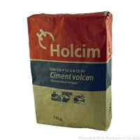 Kraft Paper Bag Cement Bag Packaging Bag 25Kg/50Kg