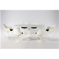 Eero Saarinen Oval Marble Tulip table