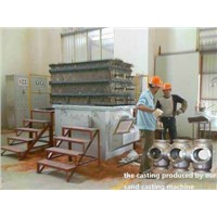 Sand Mold Low Pressure Casting Machine