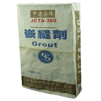 25kg kraft paper valve bag for dry-mixed adhesive
