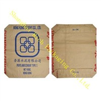 Accept custom order kraft paper cement bag china manufacturer