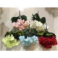cheap artificial hydrangea flower