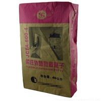 kraft packaging paper bag 25kg with valve port for waterproof interface treatment agent