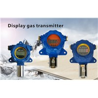 Display gas detection transmitter