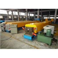 Round water down pipe forming machine