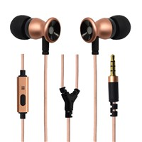 2016 Newest Metal earphone for cellphone iphone mobile