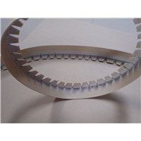 paper angle/edge/corner protector board puncher and notcher/wrap around machine