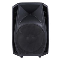 "15"" Active PA Speakers with USB, SD, LCD Display, FM, Bluetooth"