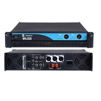 2U Stereo Power Amplifier for PA system