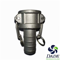 OEM manufacture stainless steel Cam Lock Quick Release Coupling, cam lock hose fitting Type C