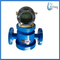 oil flowmeter/ LC oval gear flow mter with pulse or 4-20mA output