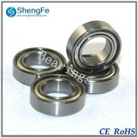 8x14x4mm MR148ZZ miniature ball bearing