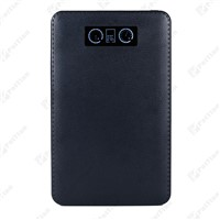PT-56 High Quality Leather Stitch Design 20000mAh Portable Power Bank