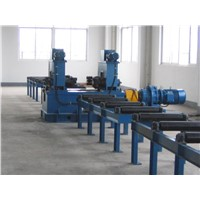 Industrial Steel Flange Straighting Machine Press H Beam  Flange Edge
