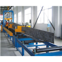 Auto H beam Assembly Machine Combined H-beam With Hydraulic Clamp