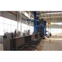 Steel Plate Shot-blasting Machine Clean H beam Surface Dirty
